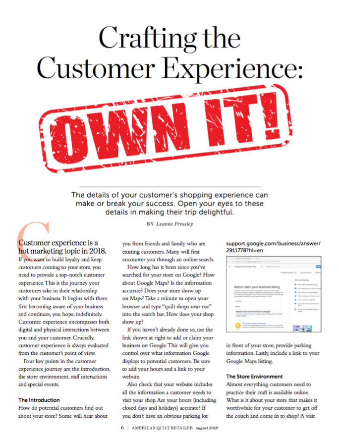 crafting-the-customer-experience