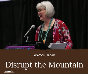Disrupt the Mountain - Spring Quilt Market Schoolhouse presentation from Heidi Kaisand